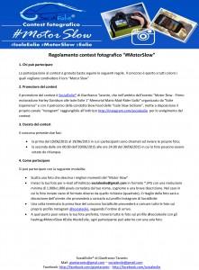 Regolamento contest motorslow-1